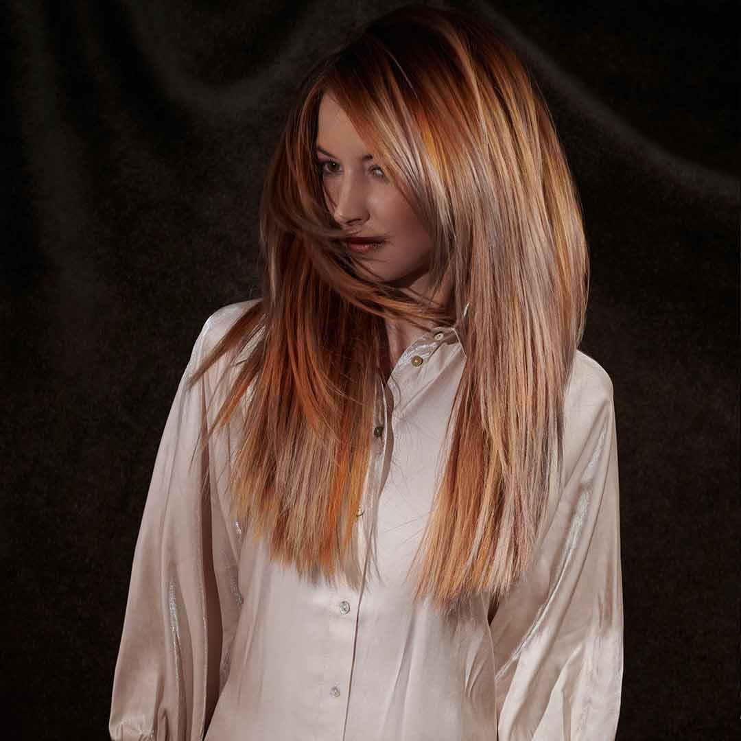 Look 4 – Herbstfarben von Kupfer bis Blond